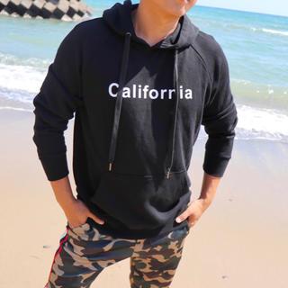 エムエスジイエム(MSGM)の西海岸コーデ☆LUSSO SURF カリフォルニアパーカー Lサイズ☆RVCA(パーカー)