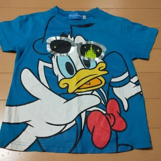 Disney - ディズニー ドナルド 半袖 Tシャツ 100