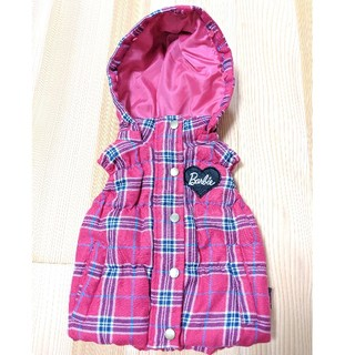 Barbie - バービー なか綿フード付きベスト 95cm