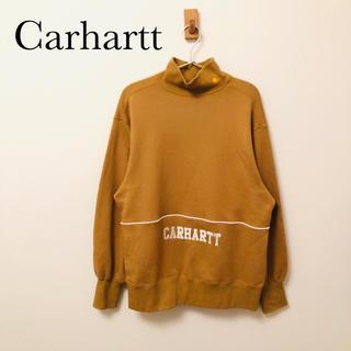 激レア carhartt カーハート 刺繍タートルネックトレーナー(スウェット)
