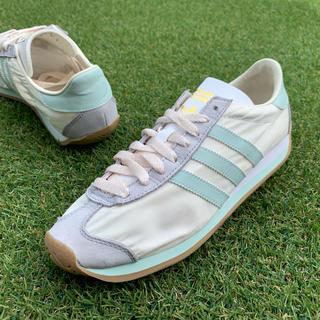 アディダス(adidas)の美品25 adidas CRTY OG アディダス カントリー B974(スニーカー)