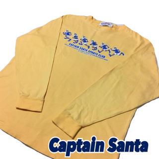 キャプテンサンタ(CAPTAIN SANTA)の90s【Captain Santa】キャプテンサンタ ロンT マスタードカラーL(スウェット)