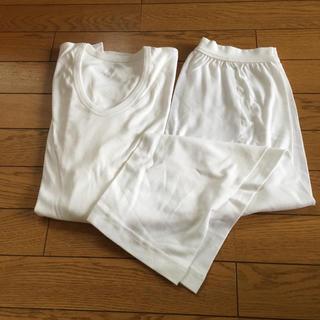 シャルレ(シャルレ)のシャルレ メンズ Uネックシャツと7分ボトム(その他)
