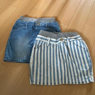 エムピーエス(MPS)のMPS パンツ付スカート 2枚セット 130(スカート)