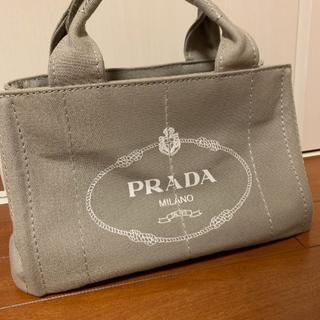 PRADA - プラダ カナパ S グレー