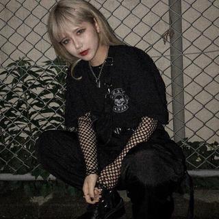 バブルス(Bubbles)のrosen kreuz Tシャツ 黒(Tシャツ/カットソー(半袖/袖なし))