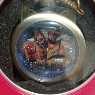 MARVEL - 【新品】スパイダーマン ファーフロムホーム プレミアム懐中時計 ゴールド