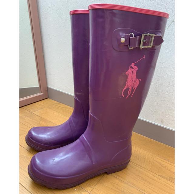 Ralph Lauren(ラルフローレン)のふかふかたまこさま専用♡polo lalph rauren レインブーツ レディースの靴/シューズ(レインブーツ/長靴)の商品写真