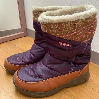 アウトドア(OUTDOOR)のoutdoor スノーブーツ LLサイズ(レインブーツ/長靴)