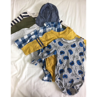 babyGAP - サイズ80 男の子 長袖セット
