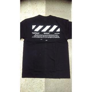 off white オフホワイト 半袖Tシャツ 01モデル