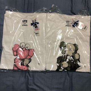 UNIQLO - カウズ Tシャツ xl 2枚セット