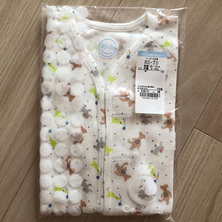 Combi mini - combi mini ワンタッチ肌着 赤ちゃん用肌着 60-70