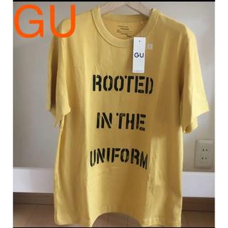 GU - 新品 ジーユー GU Tシャツ