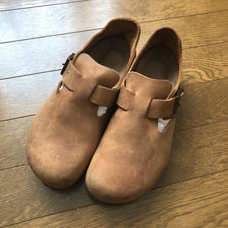 ビルケンシュトック(BIRKENSTOCK)の正規品・ビルケンシュトック BIRKENSTOCK ロンドン ブラウン 39(ローファー/革靴)