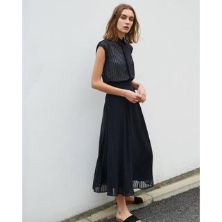 ENFOLD - 《RIM.ARK》シャドウストライプ ハイウエストスカート
