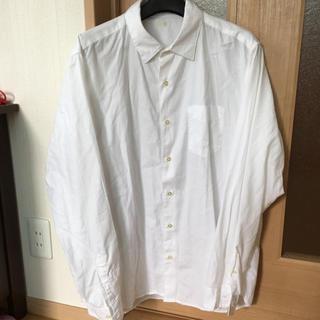 GU - 無地白シャツ XL