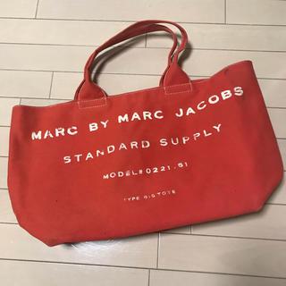 マークバイマークジェイコブス(MARC BY MARC JACOBS)のマークバイ マークジェイコブス トートバッグ赤(トートバッグ)