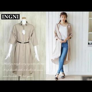 INGNI - INGNI 今季新作 ベルト付きシャツ