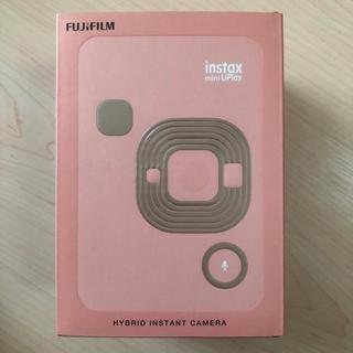富士フイルム - カメラ&スマートフォンプリンター チェキ instax mini LiPlay