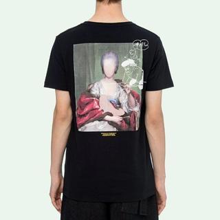 オフホワイト(OFF-WHITE)のOFF-WHITE MARIANA DE SILVA オーバーサイズ Tシャツ(Tシャツ/カットソー(半袖/袖なし))