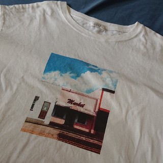 LOWRYS FARM - フォトプリントTシャツ