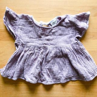 キャラメルベビー&チャイルド(Caramel baby&child )のliilu チュニックライラック 1-2y(Tシャツ)