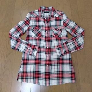ディーゼル(DIESEL)のDIESEL チェックシャツ XS(シャツ/ブラウス(長袖/七分))