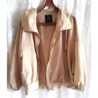 w closet - w closet 今年購入 フード付きジャケット ブルゾン