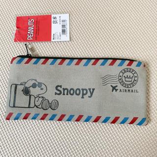 SNOOPY - 新品タグ付 SNOOPY♡スヌーピー ジョークール レター型ペンポーチ