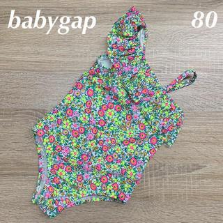 ベビーギャップ(babyGAP)の新品☆babygap☆アシンメトリーワンピース水着☆80㎝(水着)