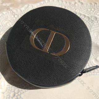 ディオール(Dior)の【新品未使用】ディオール 小銭入れ コインケース ミニポーチ ミニ財布 ブラック(コインケース)