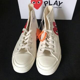 コムデギャルソン(COMME des GARCONS)のCDG Play x Converse 布靴 カップル 男女兼用   新品 (スニーカー)