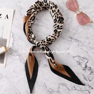 Mila Owen - 《4colour》Leopard scarf/レオパード柄 スカーフ