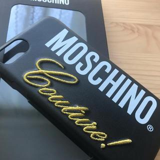 MOSCHINO - MOSCHINO iPhoneケース iPhone 7 8ロゴ モスキーノ