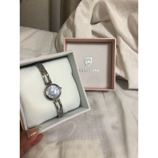 アンクラーク(ANNE CLARK)の時計 シルバー(腕時計)
