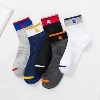 BURBERRY - BURBERRY 靴下 5足 セット 美品