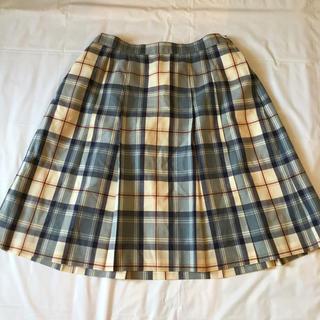 ザスコッチハウス(THE SCOTCH HOUSE)のチェックの正統派プリーツスカート【スコッチハウス】(スカート)
