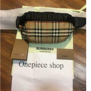 BURBERRY - 新品同様  Burberry ボディーバッグ  ウエストポーチ