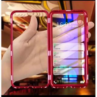 iPhoneX/XS スカイケース レッド マグネット バンパー