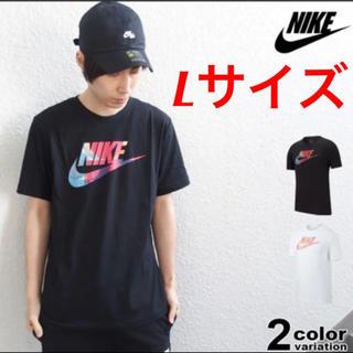 NIKE - 新品! NIKE ナイキ Tシャツ スウォッシュ ビッグロゴ ブラック Lサイズ