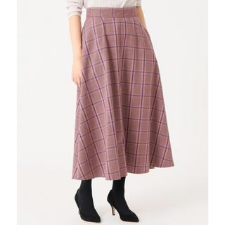 IENA - IENA チェックフレアースカート