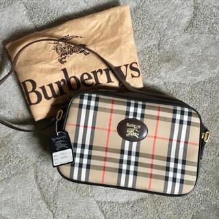 BURBERRY - 未使用 ヴィンテージ  オールド ノバ チェック ショルダー