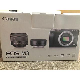 Canon - Canon  EOS m3 ダブルズームキット ブラック