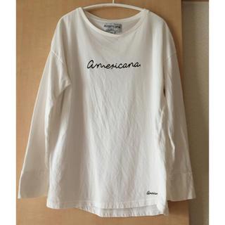 アメリカーナ(AMERICANA)のAPTさま専用 アメリカーナ ロンT(Tシャツ(長袖/七分))