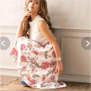 ダチュラ(DaTuRa)のDaTuRa オールドローズスカート ダチュラ ピンク(ひざ丈スカート)