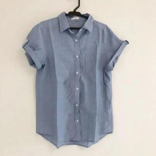 ジーユー(GU)のGU半袖シャツ、ブラウス(シャツ/ブラウス(半袖/袖なし))