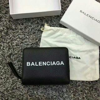 Balenciaga - BALENCIAGA バレンシアガ 二つ折り財布小銭入れ