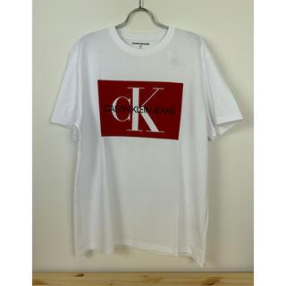 Calvin Klein - 未使用 カルバンクラインジーンズ ロゴT Tシャツ カットソー L