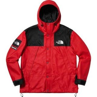 55028549f Supreme TNF Leather Mountain Parka